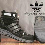 FREE ONGKIR sepatu boot hiking gunung adidas waterproof safety hitam (6022445) di Kab. Bandung