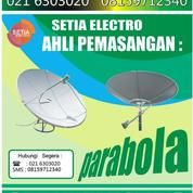 JASA PASANG PARABOLA TOPAS FREE SIARAN 2 TAHUN (6112283) di Kota Jakarta Barat
