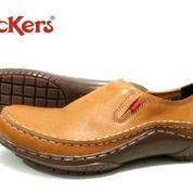 FREE ONGKIR !!! Sepatu kerja formal kulit pria kickers slop (6224265) di Kab. Bandung