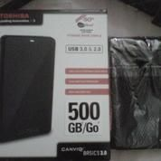 EXTERNAL HARDDISK TOSHIBA CANVIO 500GB (6314357) di Kota Semarang
