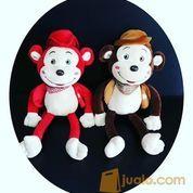 "Boneka monkey jenggo koboy 18"" inchi kurleb 53cm (6616393) di Kota Jakarta Selatan"