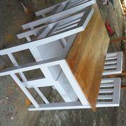 meja makan minimalis kayu mahony (6894587) di Kab. Bantul