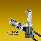 Bohlam H4-3 Motorized 3000K Gold Vision (6934237) di Kab. Karanganyar