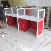 Meja Sekat Partisi Kantor Office Cubicle Bongkar Pasang Knockdown (7069769) di Kota Semarang
