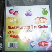 Cetakkan Es batu / Strawberry Ice Cube