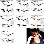 kacamata wanita half frame anti patah premium fullset (7362963) di Kota Bekasi