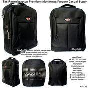 tas ransel laptop premium multifungsi vooger casual super (7369763) di Kota Bekasi