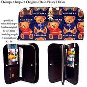 dompet murah import original bear navy hitam (7371083) di Kota Bekasi