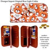 dompet murah import original bear light coklat (7376329) di Kota Bekasi
