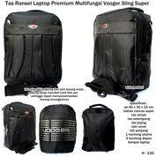 tas ransel laptop premium multifungsi vooger sling super (7391245) di Kota Bekasi