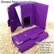 dompet wanita taiga new laacoste lauren ungu (7391907) di Kota Bekasi
