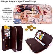 dompet murah import original bear vintage (7394901) di Kota Bekasi