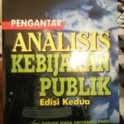 Pengantar Analisis Kebijakan Publik by William Dunn