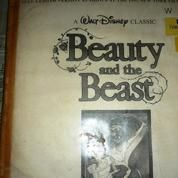 "Laser Disc ""Beauty and the Beast"""
