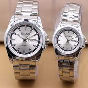 Jam Tangan SEIKO BLJ COUPLE Series Silver-White (Harga Satuan) (7648985) di Kota Bekasi