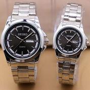 Jam Tangan SEIKO BLJ COUPLE Series Silver-Black (Harga Satuan) (7658637) di Kota Bekasi