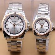 Jam Tangan SEIKO BLJ COUPLE Series Silver-Gold-White (Harga Satuan) (7659743) di Kota Bekasi