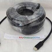 Kabel HDMI Terabyte 40 Meter Bagus Sudah Test OK Kuat Awet 1080