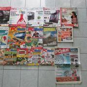 Majalah InfoKomputer, PC Media / Ekonomis, Tabloid PCplus, Majalah Sepeda Dan 3 Buah Buku (7746585) di Kota Bekasi