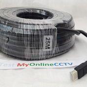 Kabel HDMI Terabyte 25 Meter Bagus Sudah Test OK Kuat Awet 1080