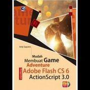 Mudah Membuat Game Adventure Menggunakan Adobe Flash CS 6