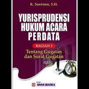 Yurisprudensi Hukum Acara Perdata Bagian 3 tentang Gugatan dan Surat (7958117) di Kota Yogyakarta