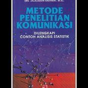 Metode Penelitian Komunikasi Dilengkapi Contoh Analisis Statistik (7958219) di Kota Yogyakarta