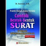 Hukum Acara Perdata dalam Praktek: Contoh Bentuk-Bentuk (7958327) di Kota Yogyakarta