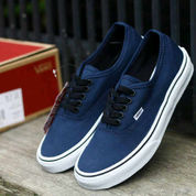 sepatu Vans authentic navy white DT size 39-44