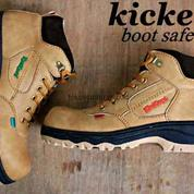 Sepatu Safety Boots / Sepatu Kerja / Sepatu Kickers / Sepatu Keren / Sepatu Boots / Sepatu Bandung