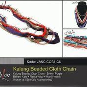 Kalung Beaded Cloth Chain JANC.CCB1.CU (8232775) di Kota Tangerang