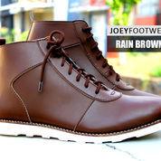 Sepatu Joey Footwear Rain Brown | Joey The Footwear | Sepatu Boot
