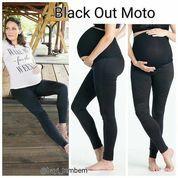 Preggo Legging Black Out Moto Size S (8311963) di Kota Tangerang
