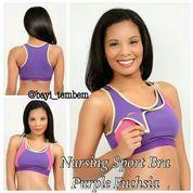 Nursing Sport Bra Purple Fuchsia (8312961) di Kota Tangerang