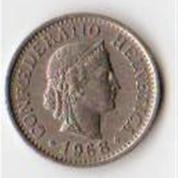Koin 10 Fr Confederica Helvetica Tahun 1968 (8363399) di Kota Yogyakarta