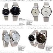 jam tangan pasangan pria / wanita couple ck round ultimate (8368111) di Kota Jakarta Pusat