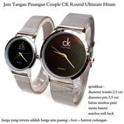 jam tangan pasangan pria / wanita couple ck round ultimate hitam (8368171) di Kota Jakarta Pusat
