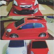 Aksesoris Interior Mobil Rumah Kantor Tempat Tissue Replika Mobil Honda Brio Mobilio Standar Custom
