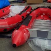 Perahu karet merk ACHILLES SG 140 made in Jepang kapasitas 6 person