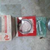 piston + ring+ penpiston +spi satria 120 2t. oversize std.asli sgp. (8587285) di Kota Tangerang