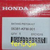 stank piston / con-rod kit legenda, supra fit new asli ahm (8587393) di Kota Tangerang