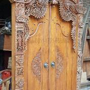pintu rumah, Gebiok kayu jati (8629059) di Kota Tangerang Selatan