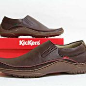 Sepatu Kickers Slop Brown 39-43