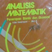 Analisis Matematik: Penerapan Bisnis dan Ekonomi (Jilid 2) (Edisi 4) (8788917) di Kota Jakarta Barat