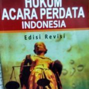 Hukum Acara Perdata Indonesia (Edisi Revisi) Sudikno (8789167) di Kota Jakarta Barat