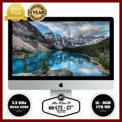 """GARANSI RESMI APPLE 1 TAHUN iMac MK472 - 27""""/3.2GHz quad core i5 (8791705) di Kota Bandung"""