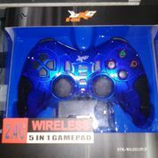 Gamepad joystick wireless 2.4GHZ K-one for pc/PS2 (8821211) di Kota Depok