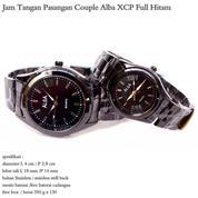 jam tangan stainles couple alba XCP full hitam (8846763) di Kota Jakarta Pusat
