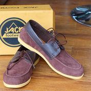 Sepatu Casual Pria cowok kerja jalan Boot formal~Jack Zapato Brown (8847535) di Kota Bandung