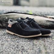Sepatu Casual|sepatu kerja|sepatu jalan| sepatu boot pria cowok ~ HW05 (8848131) di Kota Bandung